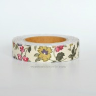 floral fabric tape
